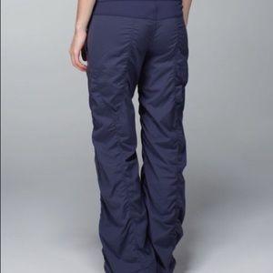 Lululemon studio dance pants * lined
